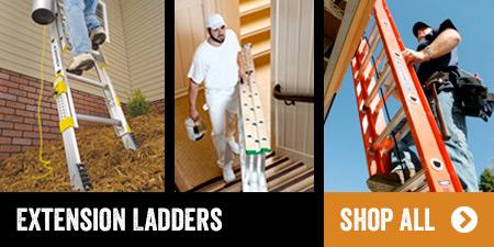 Shop all Werner Extension Ladders