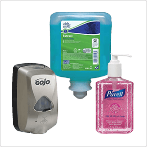 Hand Soaps & Sanitizers