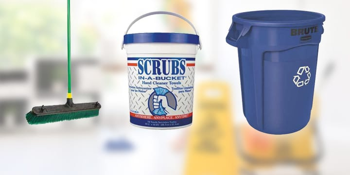 Shop Janitorial and Cleaning Supplies