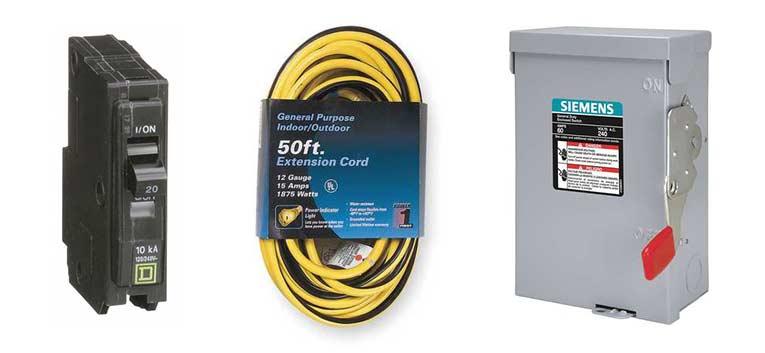 Shop Electrical Supplies & Generators