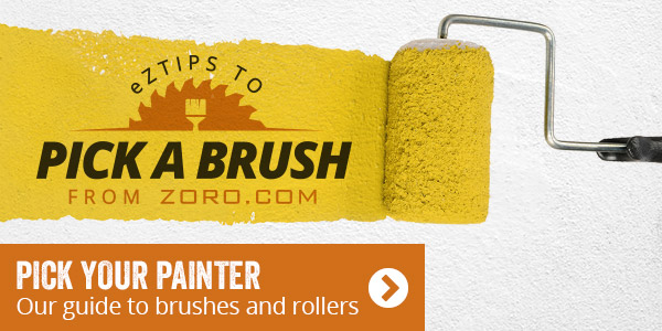 Pick your painter. Our guide to brushes and rollers