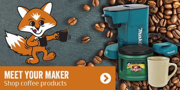 Meet your maker. Shop coffee products.