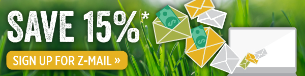 Save 15%. Sign Up for Z-mail.