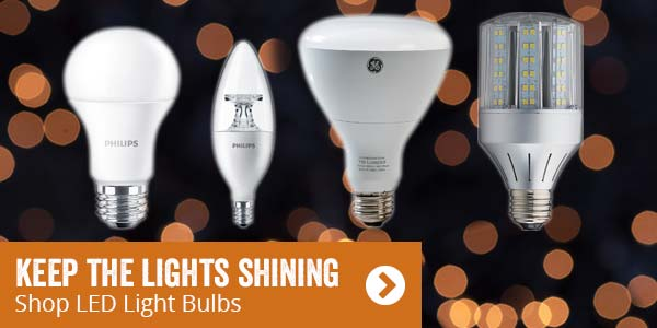 Keep the Lights Shining. Shop LED Light Bulbs.