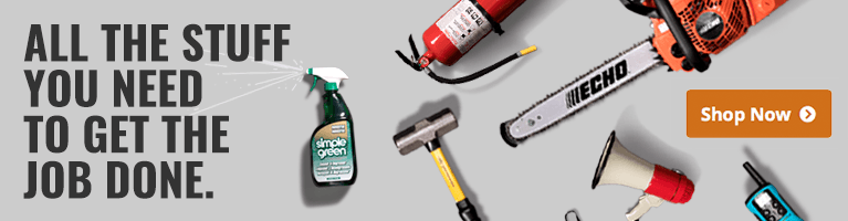 All the stuff you need to get the job done.