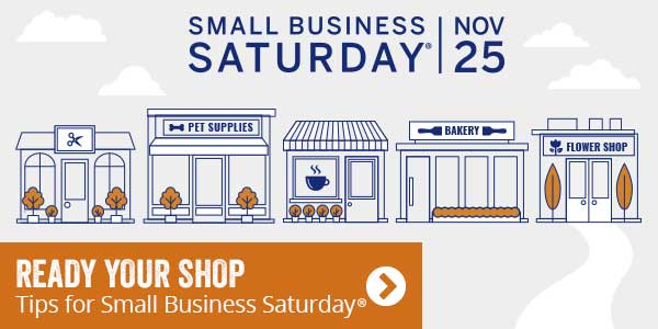 Ready your shop. Tips for small business saturday.
