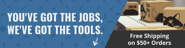 You've got the jobs, we've got the tools. Free shipping on $50+ orders.