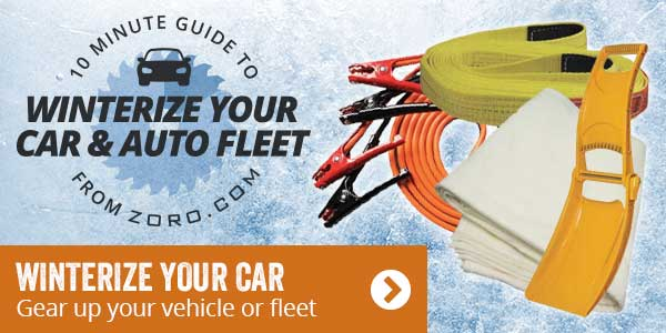 Winterize your car. Gear up your vehicle or fleet.