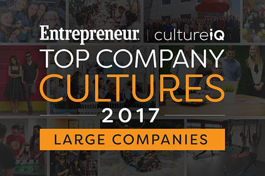 The Best Company Cultures in 2017