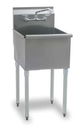 Narrow Utility Sink : Stainless Steel Utility Sinks by EAGLE GROUP - Sinks at Zoro