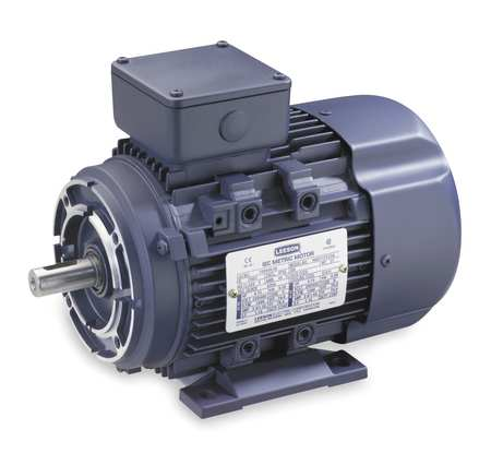 Metric Motors By Leeson Ac Metric Three Phase Motors At Zoro