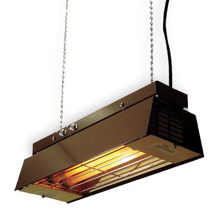 Overhead Electric Infrared Heaters Indoor, Quartz Tube Heating Element