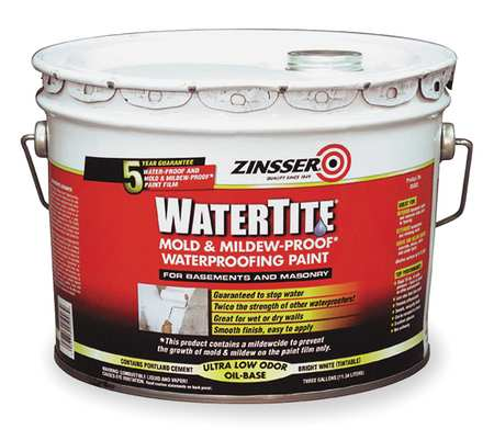 Water Repellent Sealer And Waterproofing Paint By Zinsser Paint At Zoro