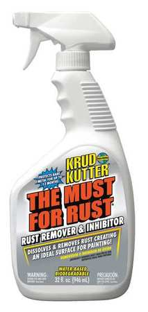 KRUD KUTTER Rust Remover and Inhibitor, 32 oz - G4821302 at Zoro