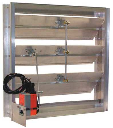 Motorized Volume Control Channel Style Dampers By Dayton