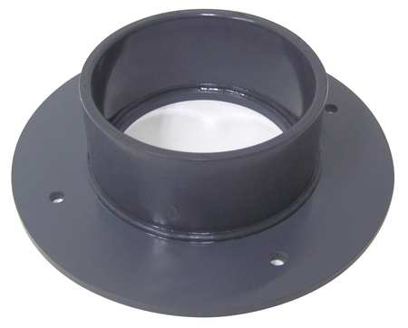 Pvc Duct Flange By Plastic Supply Duct And Fittings At Zoro