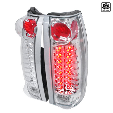 SPEC-D TUNING LT-RAN06CLED-TM Chrome Tail Light Led