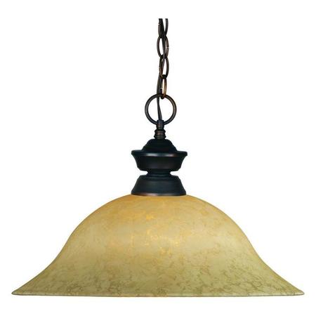 CO Z Traditional Drum Chandelier Lighting Bronze, 18