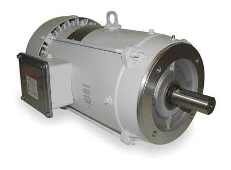Washdown Motor, 3 Ph, TEFC, 10 HP, 3525 rpm