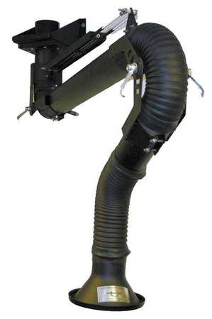 Extractor Arm, Fume, Length 96 In, Dia 4 In