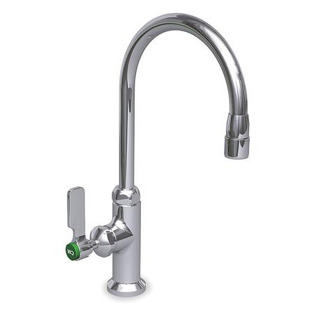 Gooseneck Faucet, Manual, 3/8 In MNPT