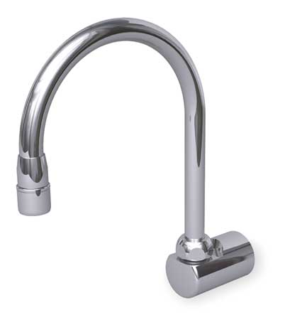 Gooseneck Faucet, Optional Foot Pedal