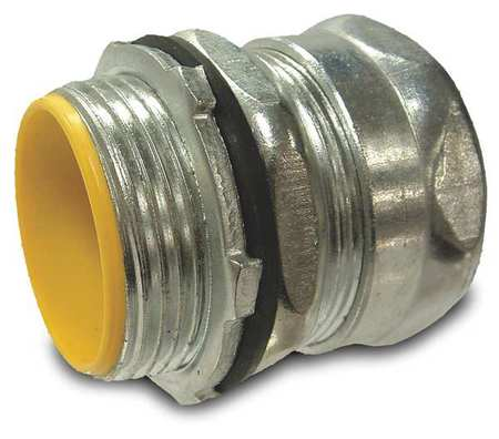 EMT Connector, Insulated, 1 1/4 In