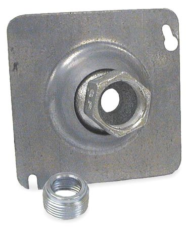 Swivel Fixture Cover, Square with Pipe