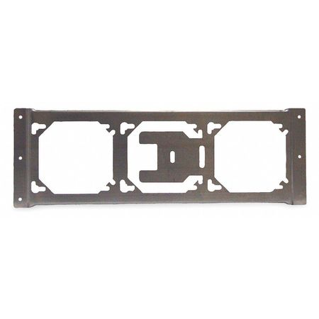 Mounting Bracket, 3 Box, Square