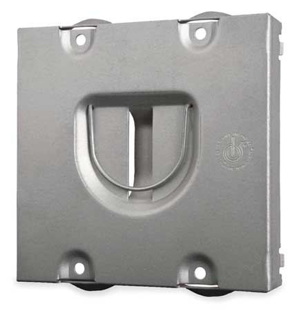 Electrical Box Cover, Square, Raised