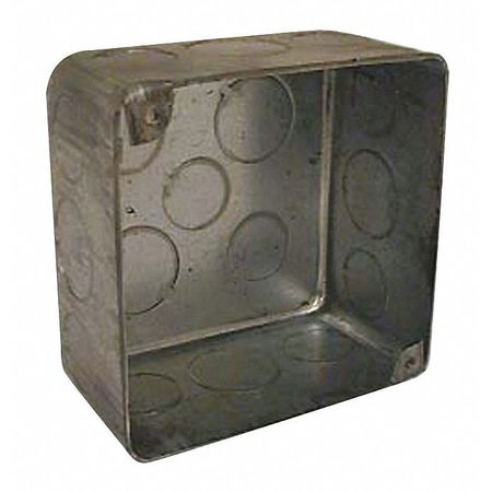 Electrical Box, Square, Square, 21 cu. in.