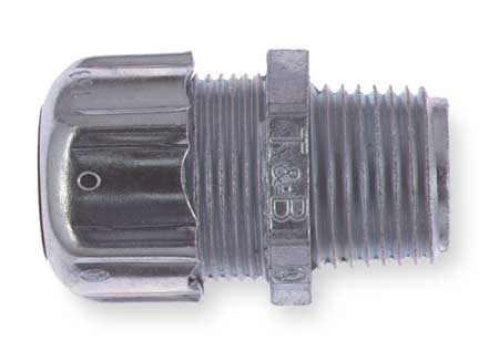 Noninsulated Connector, 3 In., Steel