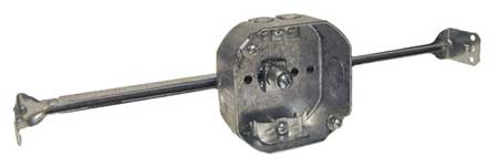 Electrical Box, Adjustable Bar, NM-B Clamp