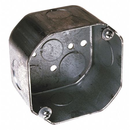Electrical Octagon Box, 21.5 cu. in.