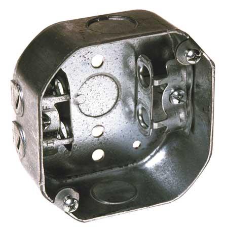 Electrical Octagon Box, 15.5 cu. in.
