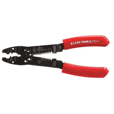 Wire Stripper, 22 to 8 AWG, 8-1/2 In