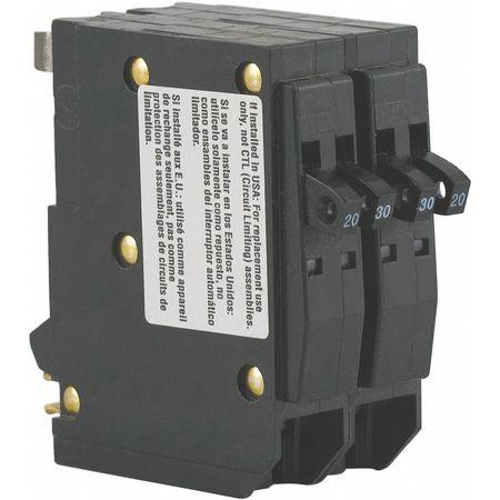 1P Tandem Plug In Circuit Breaker 30A 120/240VAC