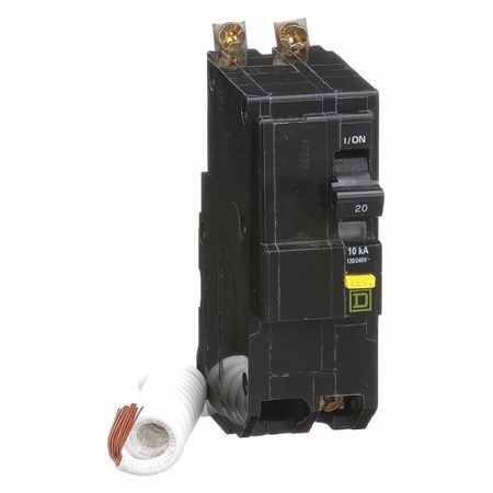 2P GFCI Bolt On Circuit Breaker 20A 120/240VAC