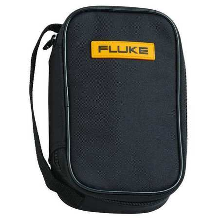 Soft Carrying Case, 8-1/2 In. D, Black/Ylw