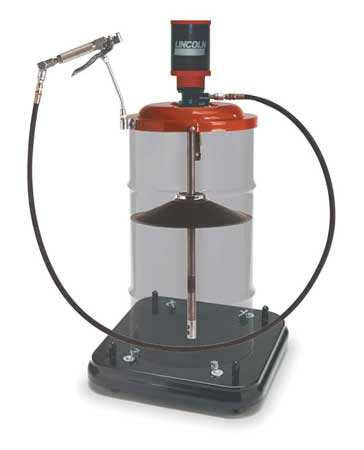 Portable Grease Pump, 120 lb./16 gal, 50:1
