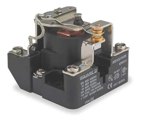 Open Power Relay, 5 Pin, 120VAC, SPDT