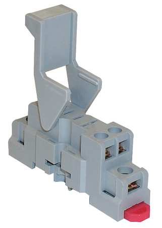 Relay Socket, Standard, Square, 5 Pin, 15A