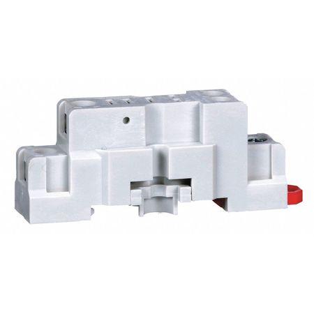 Relay Socket, Standard, Square, 5 Pin, 15A