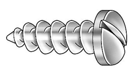 Metal Screw, #10, 1 3/4 In L, PK100
