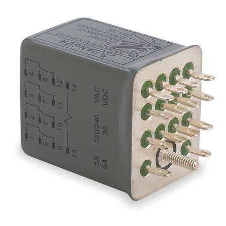 Relay, 14Pin, 4PDT, 5A, 120VAC