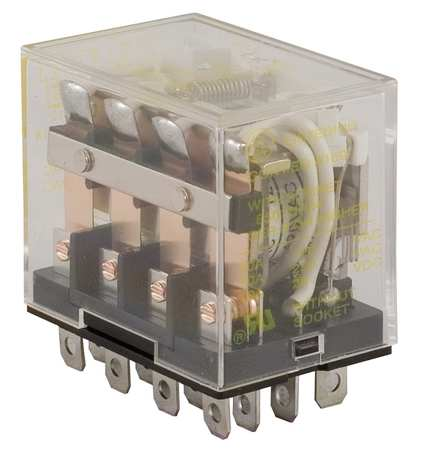 Relay, 14Pin, 4PDT, 10A, 120VAC