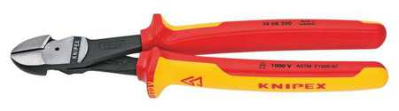 "10"" High Leverage Diagonal Cutter,  Insulated"