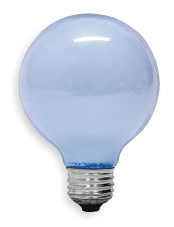 GE LIGHTING 40W,  G25 Incandescent Light Bulb