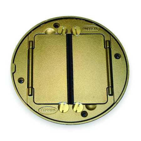 Floor Box Cover Tile Flange, Brass