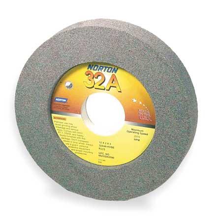 Grinding Wheel, 12x2x3, Rec 2/S 7.25x1/2
